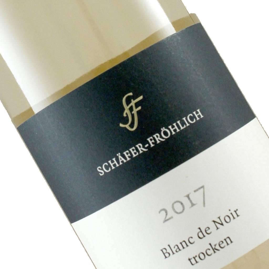 Schafer-Frohlich 2017 Blanc de Noir Trocken, Nahe, Germany