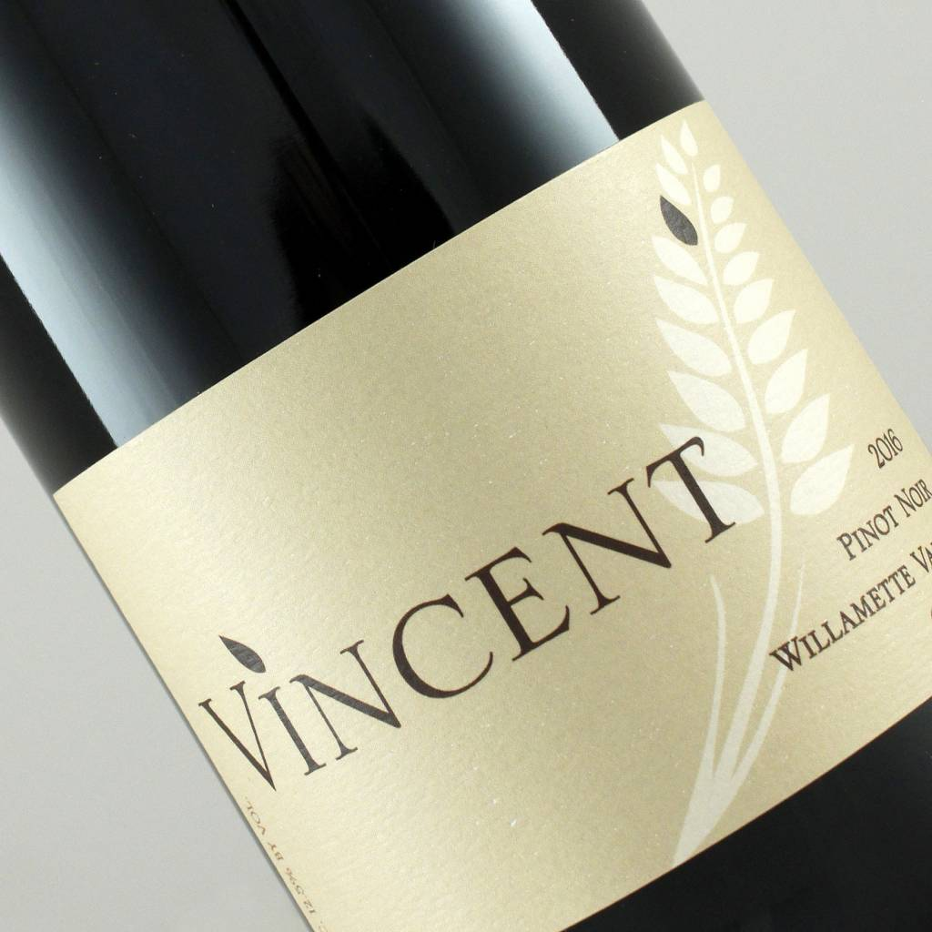 Vincent 2016 Pinot Noir Willamette Valley, Oregon