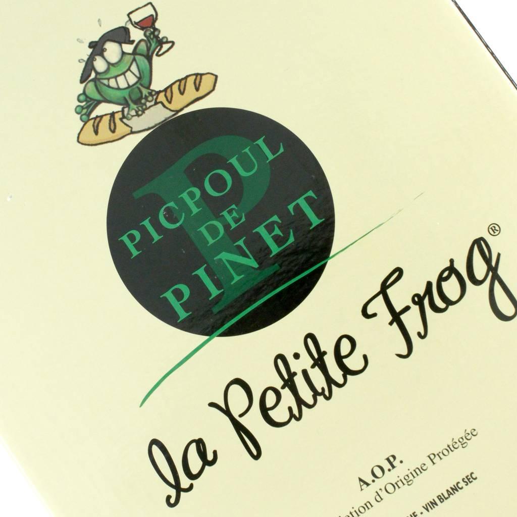 """Pomerols 2017 Picpoul de Pinet """"la Petite Frog"""", Langeuedoc 3L Box"""