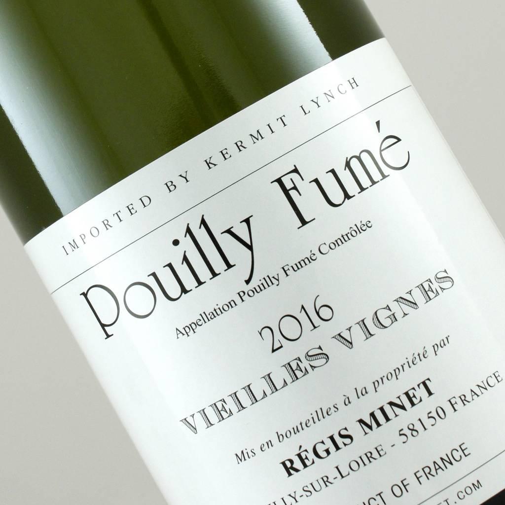 Regis Minet 2016 Vieilles Vignes Pouilly Fume, Loire Valley