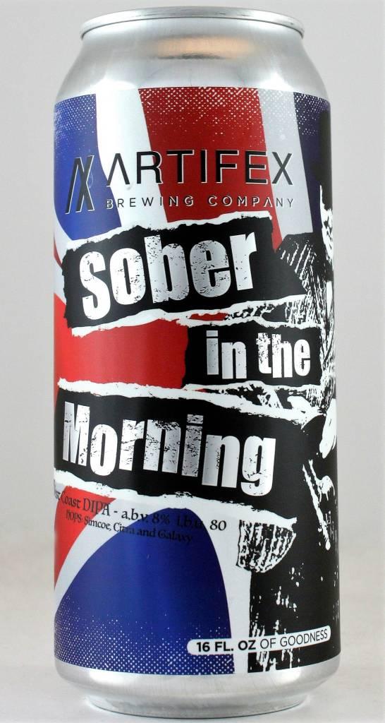 "Artifex Brewing ""Sober in the Morning"" DIPA"