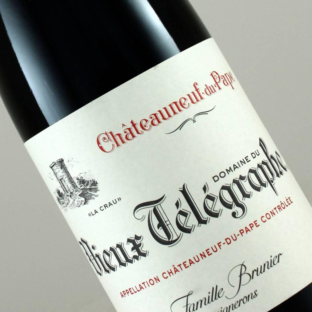 """Domaine du Vieux Telegraphe 2014 Chateauneuf du Pape """"La Crau"""" half-bottle"""