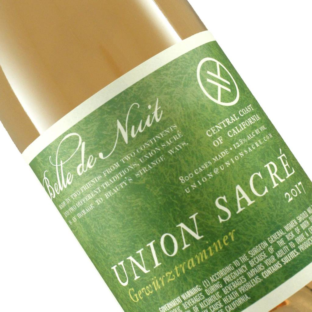 Union Sacre 2017 Gewurztraminer, Central Coast