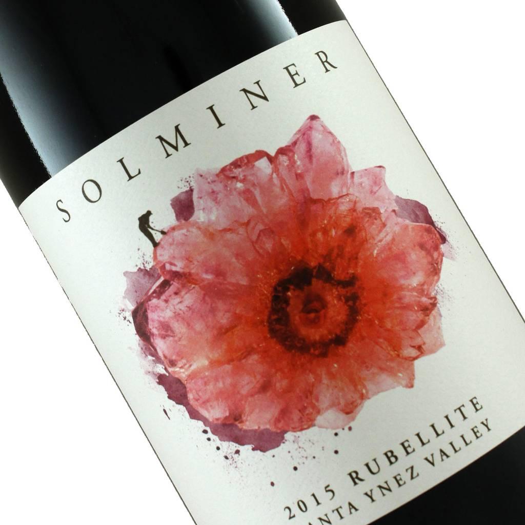 "Solminer 2015 Red Blend ""Rubellite"" Santa Ynez Valley"