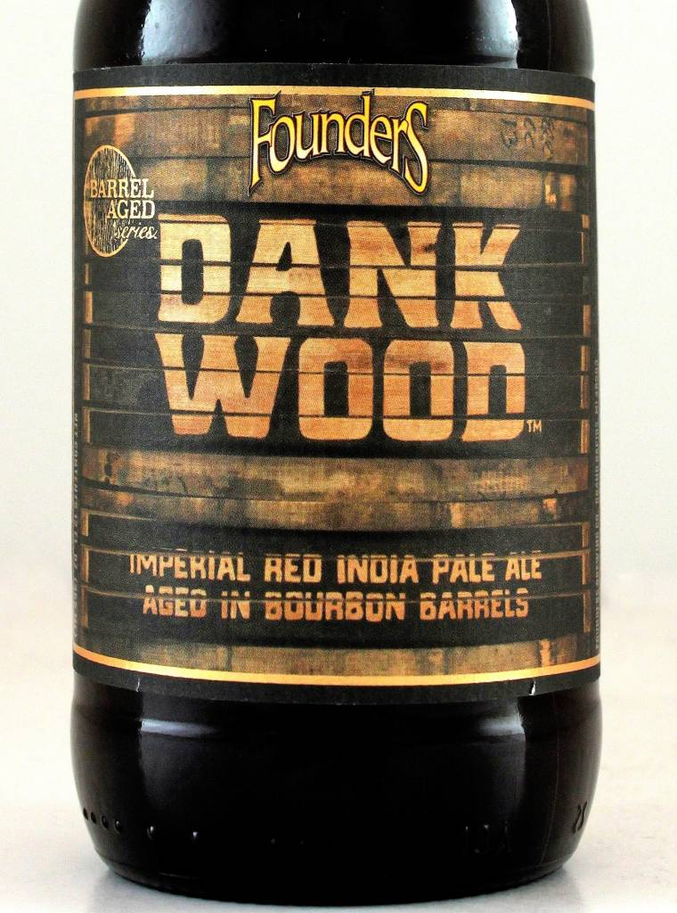"Founders Brewing ""Dankwood"" Bourbon BBL-aged Imperial Red IPA"