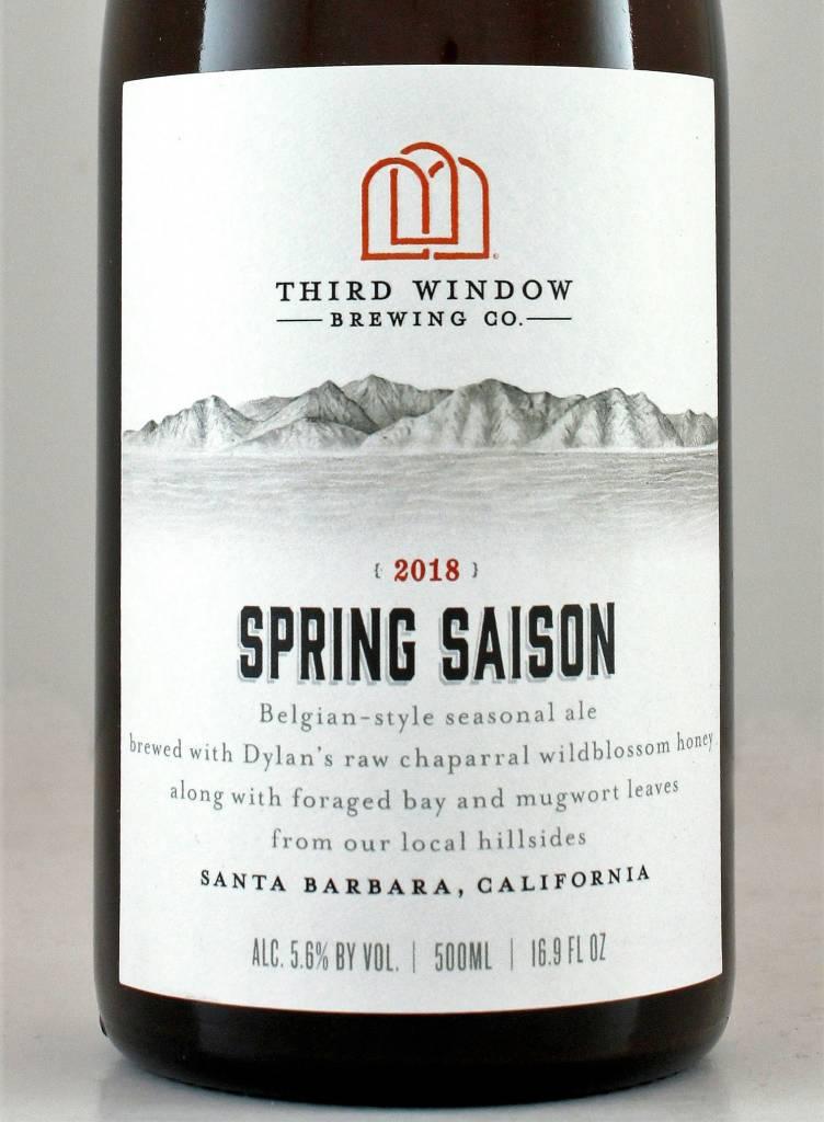 """Third Window Brewing """"Spring Saison 2018"""""""