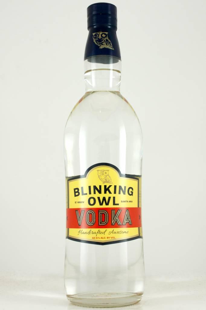 Blinking Owl Vodka, Handcrafted, Santa Ana