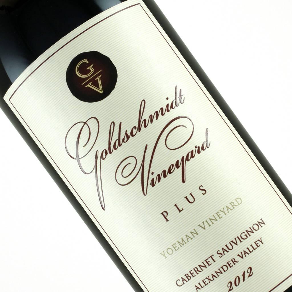 Goldschmidt 2012 Cabernet Sauvignon Plus Yoeman Vineyard, Alexander Valley