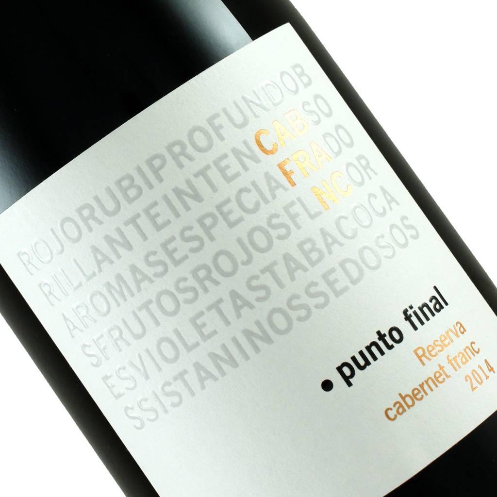 """Renacer 2014 Cabernet Franc Reserva """"Punto Final"""", Argentina"""