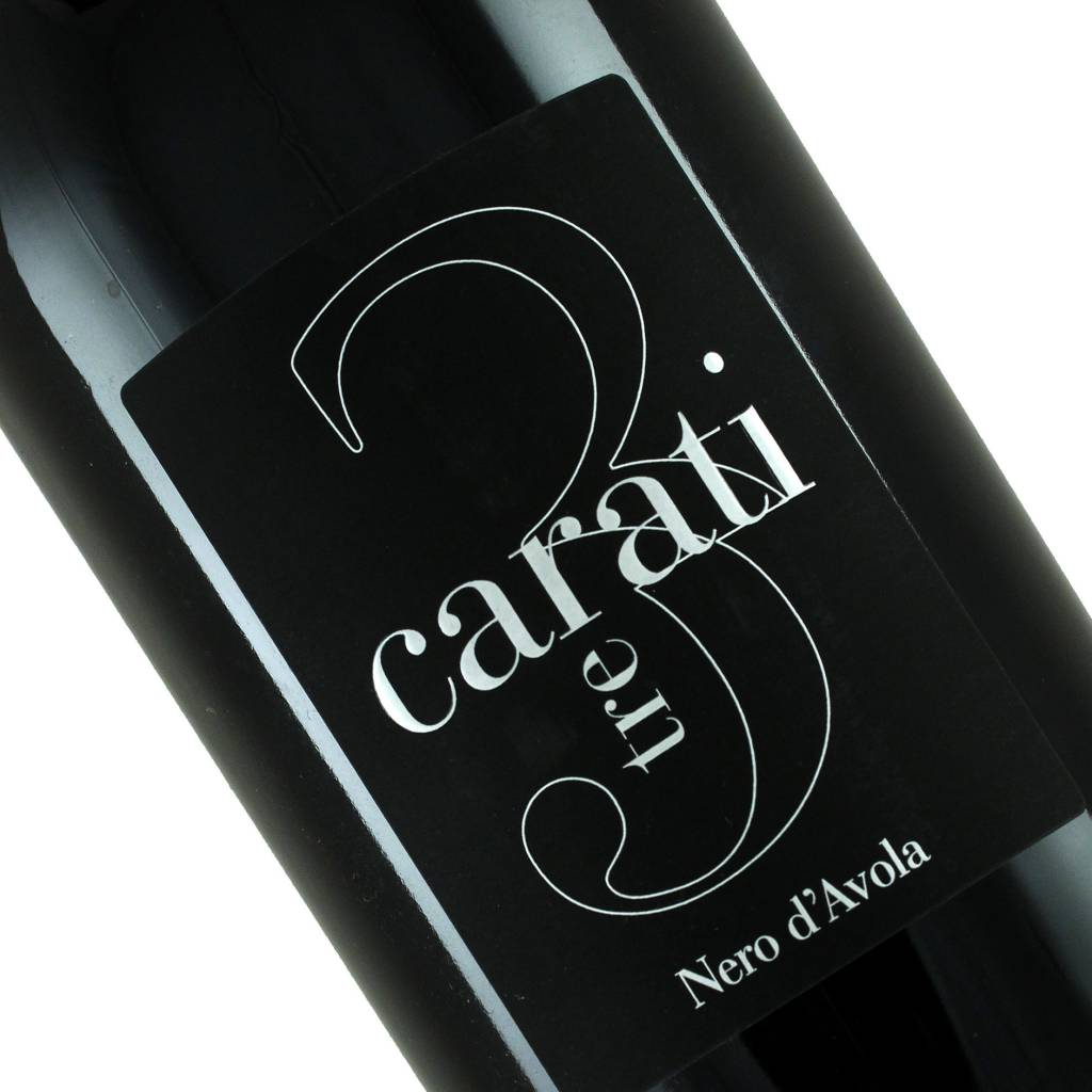 """Avide 2012 """"3 Carati"""" Nero d'Avola, Sicily"""