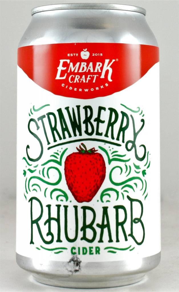 "Embark Craft Ciderworks ""Strawberry Rhubarb"""