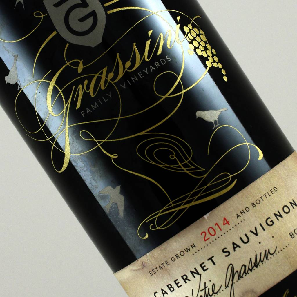Grassini 2014 Cabernet Sauvignon, Happy Canyon, Santa Barbara