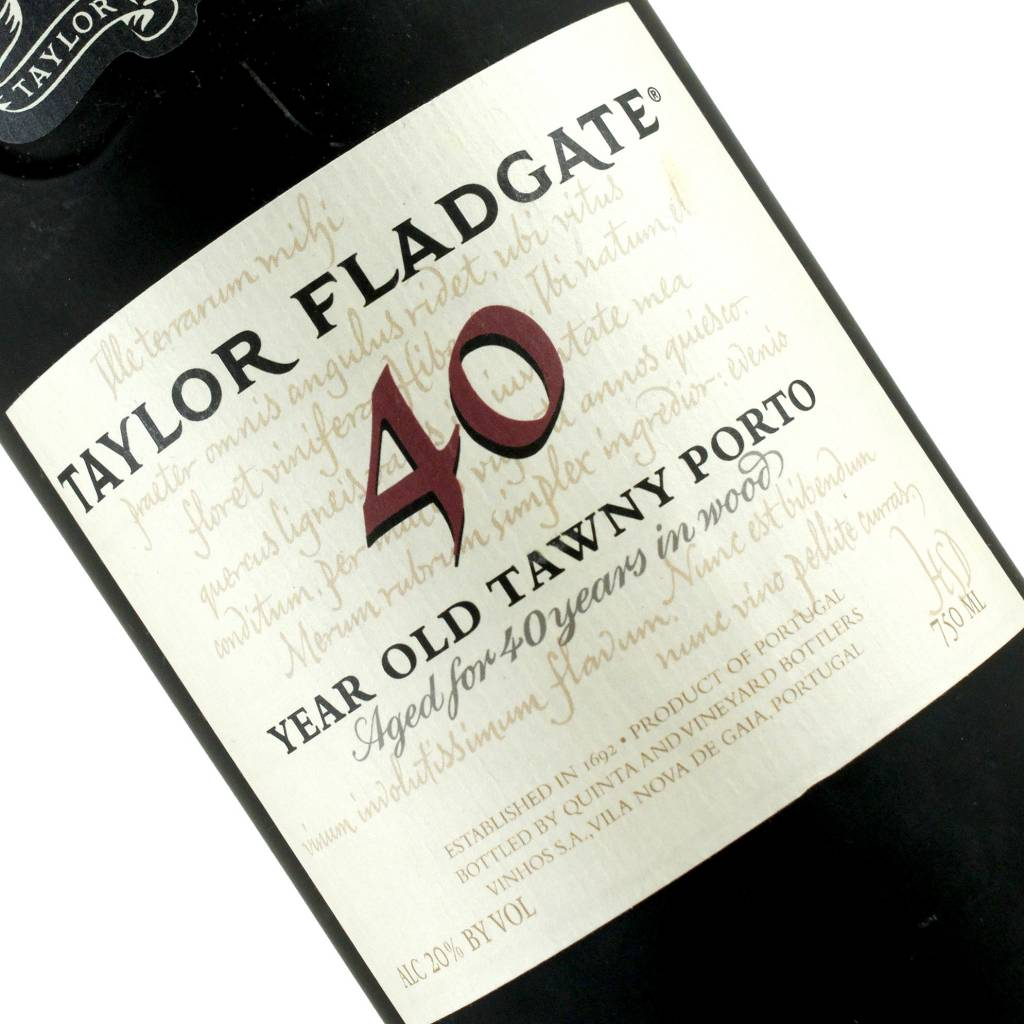 Taylor Fladgate 40 Year Old Tawny Porto, Portugal