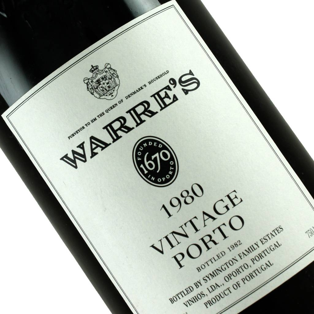 Warre's 1980 Vintage Porto, Portugal