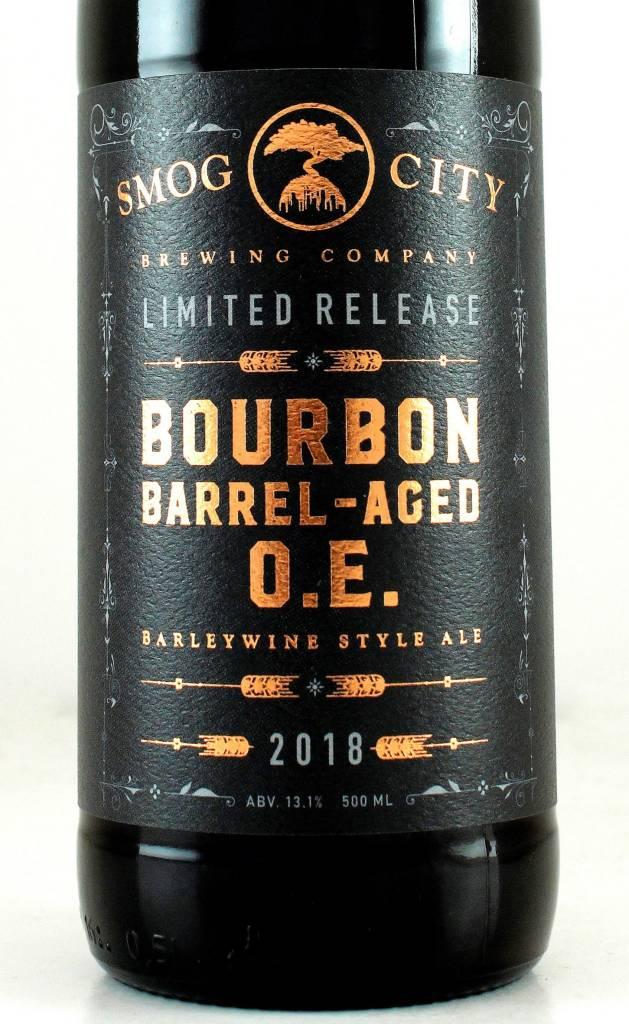 """Smog City Brewing """"Bourbon O.E."""" Barleywine"""