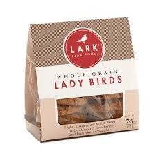 Lark Whole Grain Lady Birds Cookies
