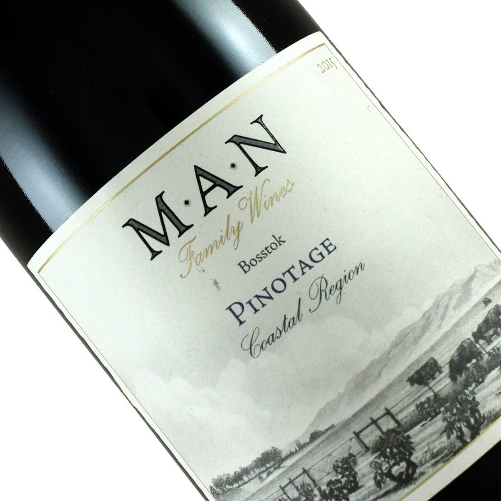 Man Family Wines 2015 Bosstok Pinotage, South Africa