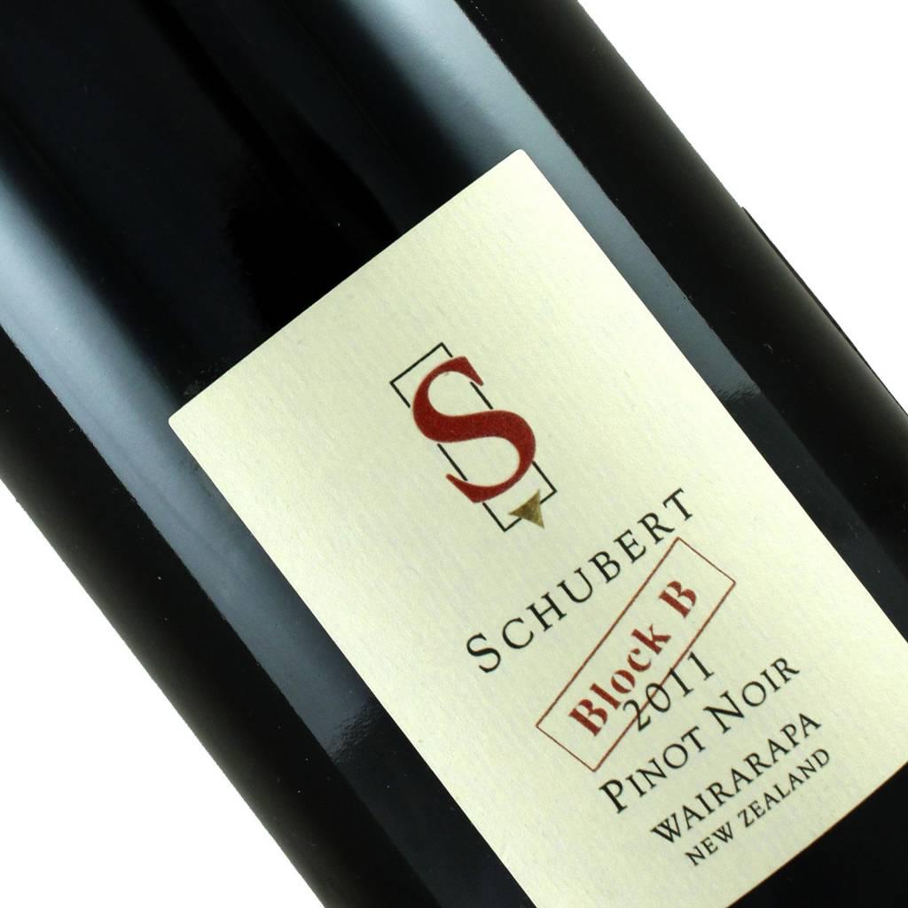 Schubert 2011 Block B Pinot Noir Wairarapa, New Zealand