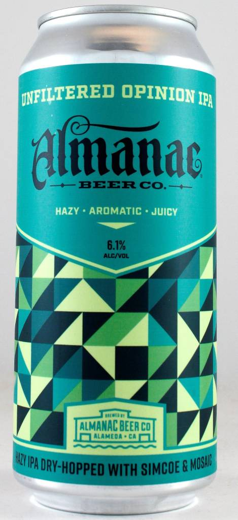 "Almanac Beer Co. ""Love Hazy"" IPA, California"