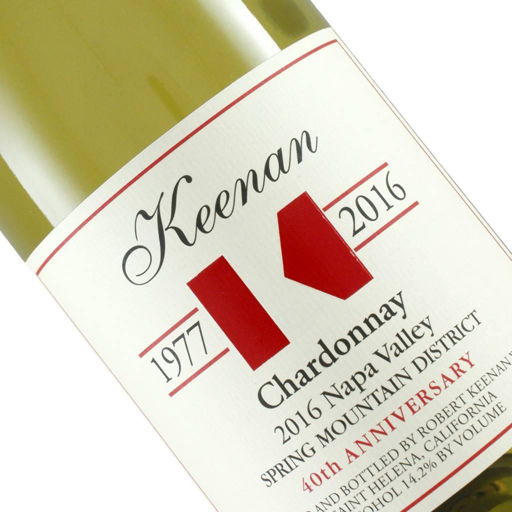 Keenan 2016 Chardonnay, Spring Mountain District, Napa Valley