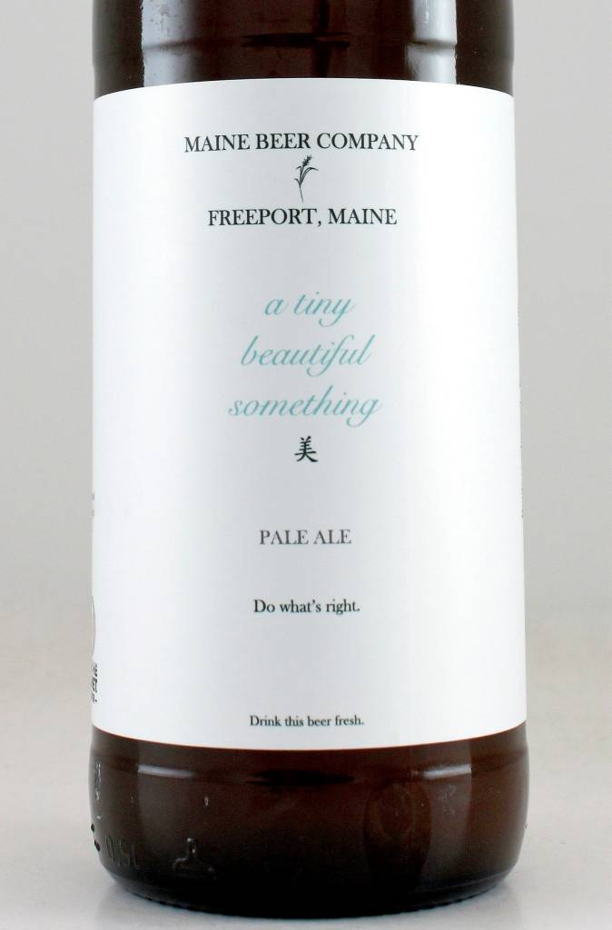 """Maine Beer """"A Tiny Beautiful Something"""" Pale Ale, Maine"""