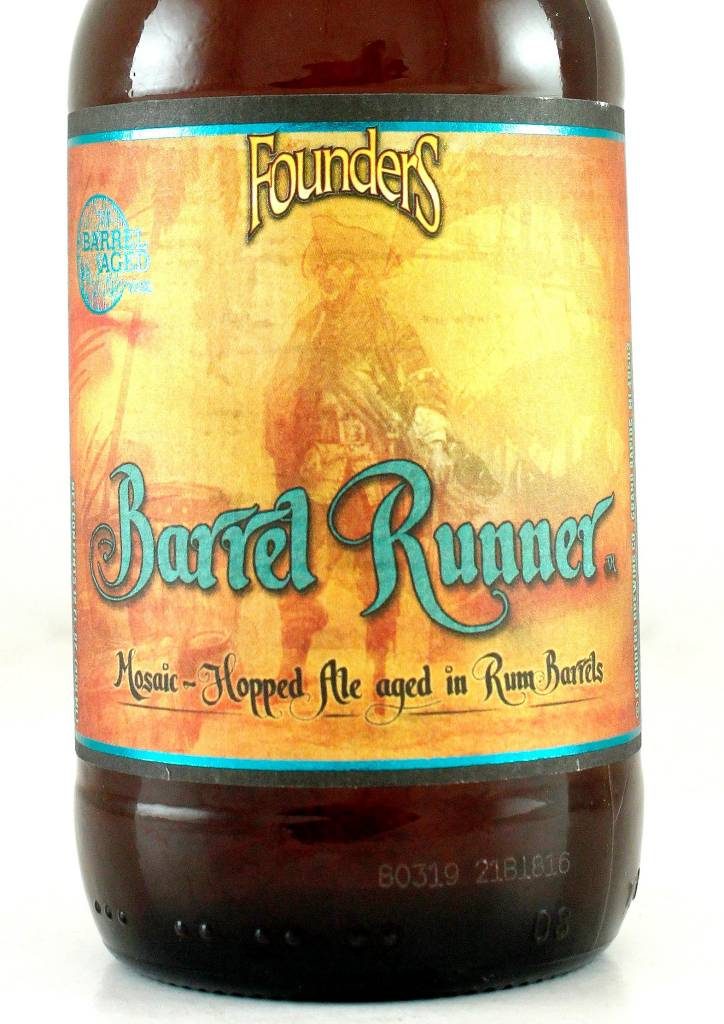 """Founders Brewing """"Barrel Runner"""" Mosaic-Hopped Ale"""