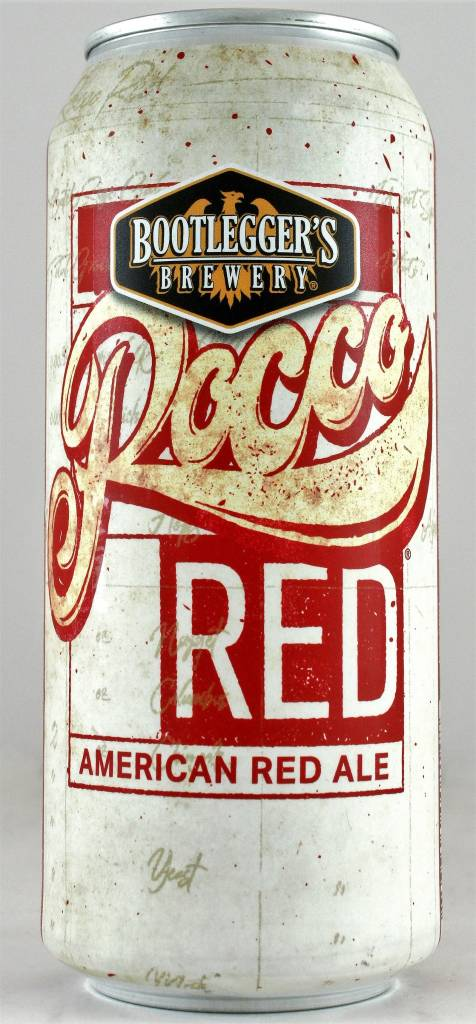 "Bootlegger's ""Rocco Red"" American Red Ale Fullerton, California"