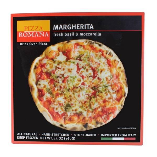 Pizza Romana Margherita Brick Oven Pizza