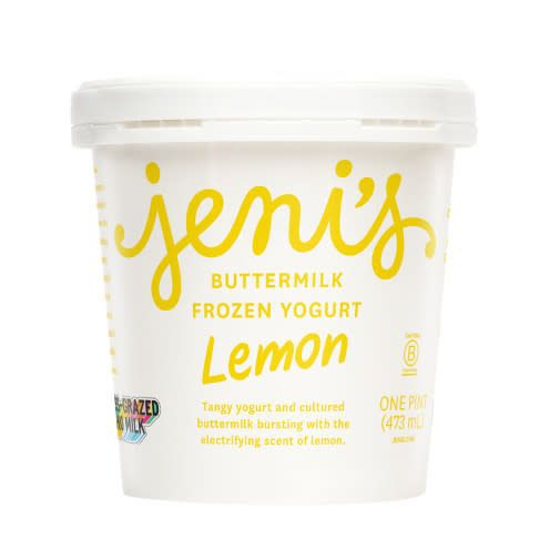 Jeni's Lemon Buttermilk Frozen Yogurt Pint