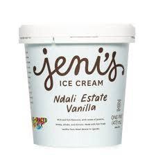 Jeni's Vanilla Bean Ndali Estate Ice Cream Pint