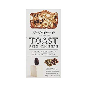Fine Cheese Co. Toast For Cheese with Dates, Hazelnuts & Pumpkin Seeds