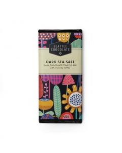 Seattle Chocolate Dark Sea Salt Truffle Bar