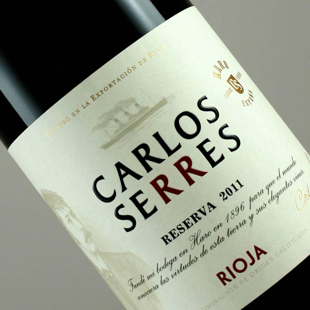 Carlos Serres 2011 Reserva Rioja, Spain