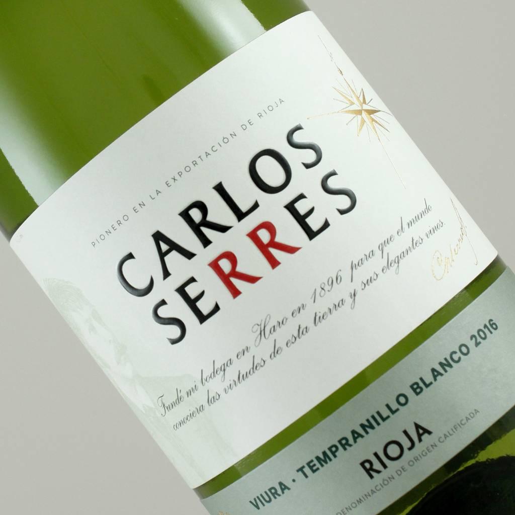 Carlos Serres 2016 Blanco Rioja, Spain