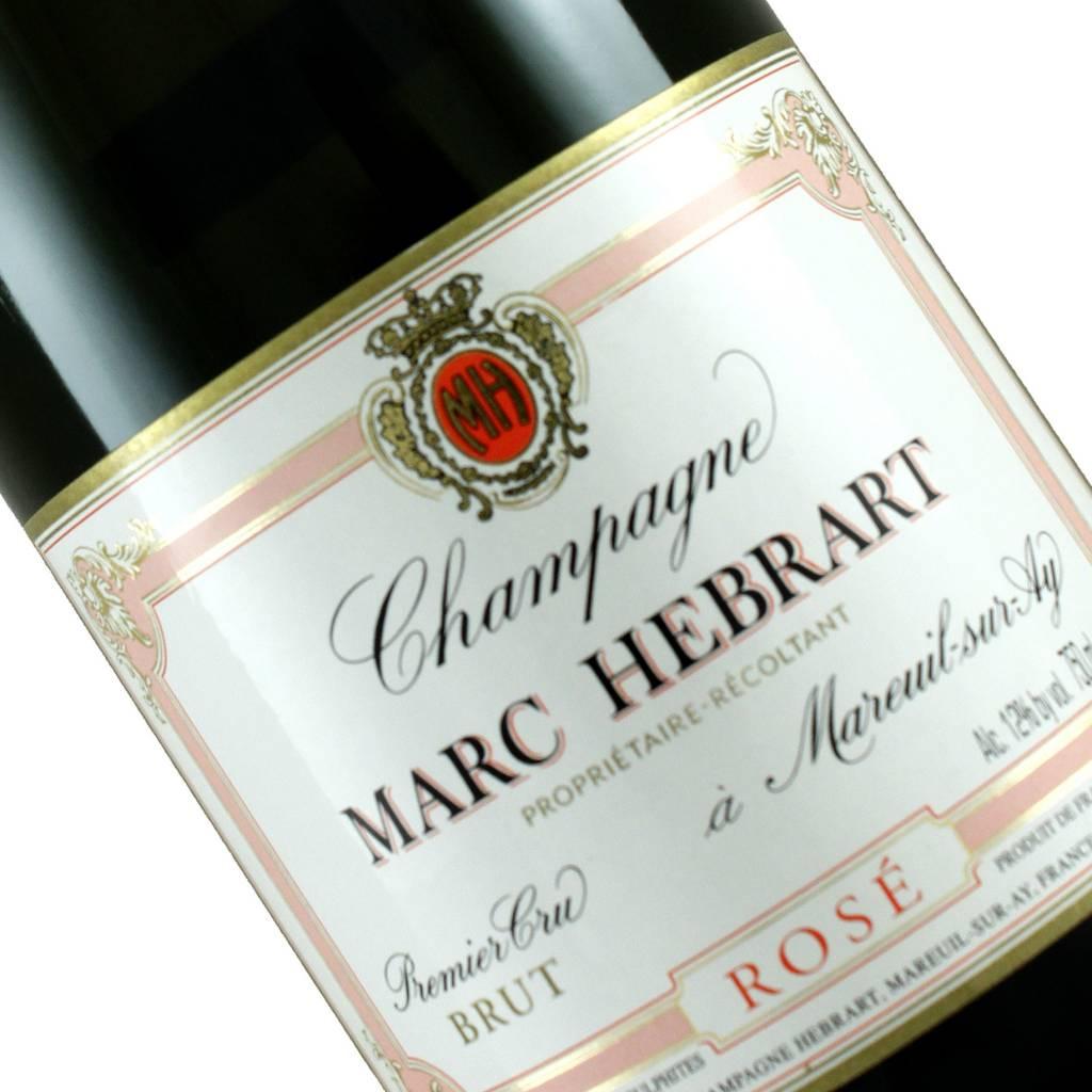 Marc Hebrart N.V. Champagne Brut Rose Champagne Premier Cru, Mareuil-sur-Ay