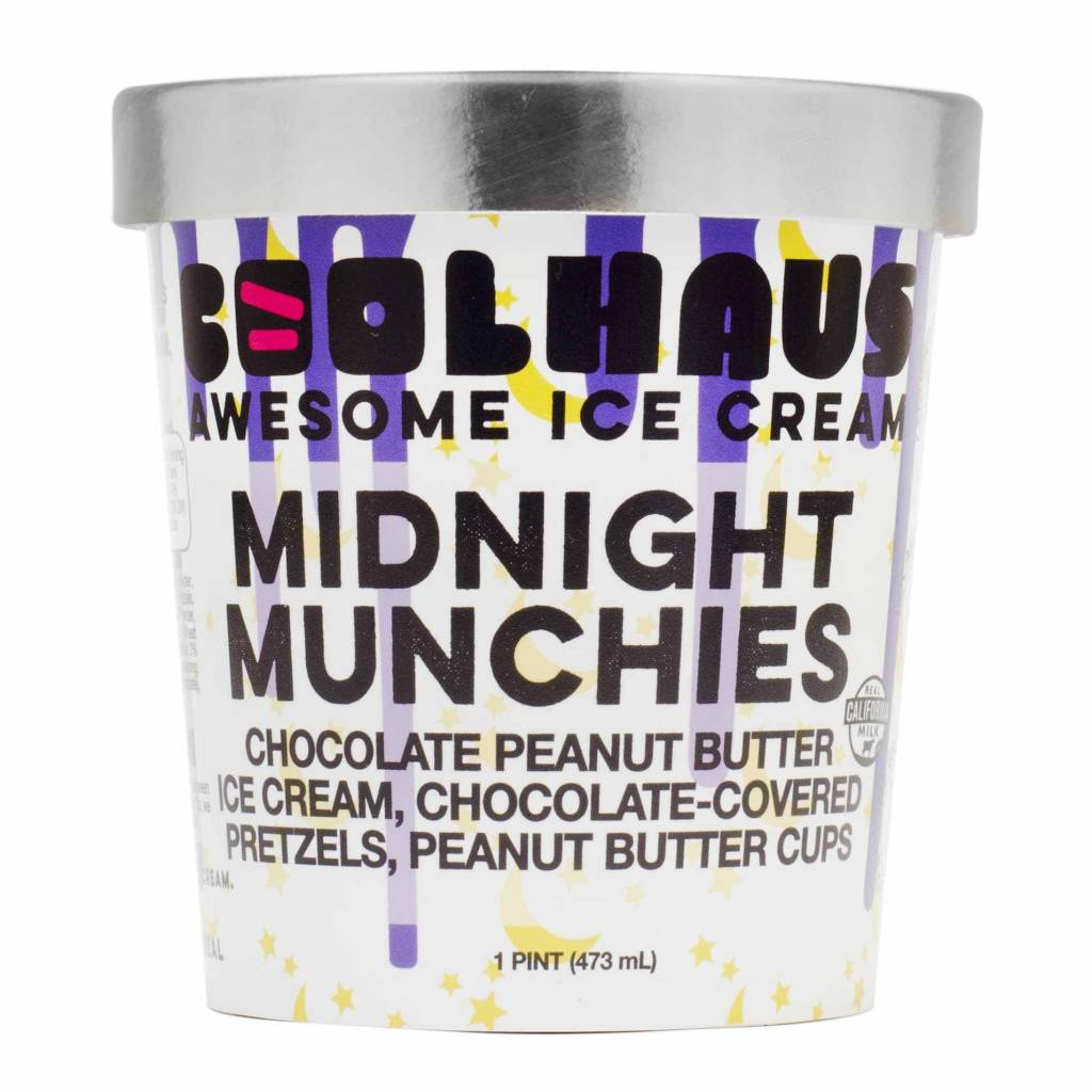 "Coolhaus ""Midnight Munchies"" Artisan Ice Cream, Los Angeles"