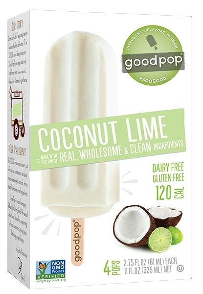 Goodpop Coconut Lime Frozen Pop, Austin, Texas