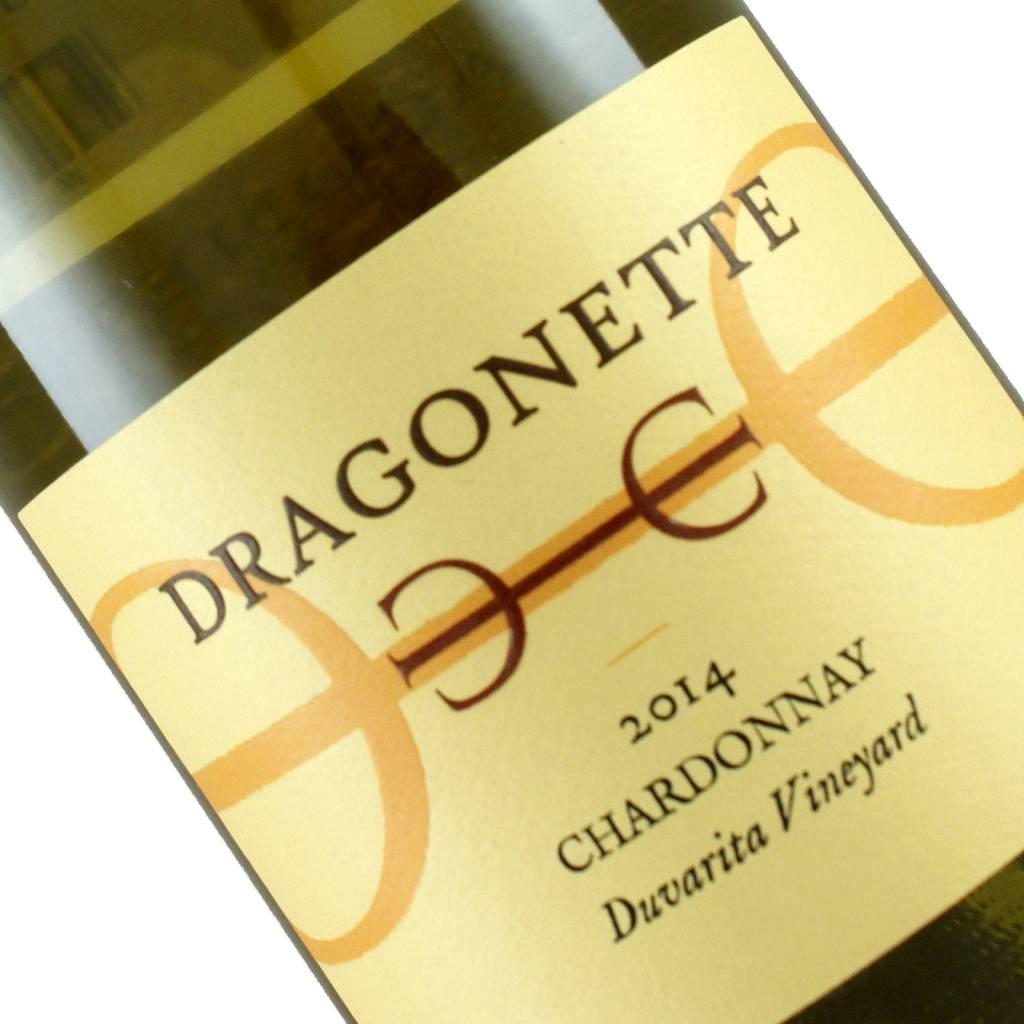 Dragonette Cellars 2014 Chardonnay Duvarita Vineyard, Barbara County