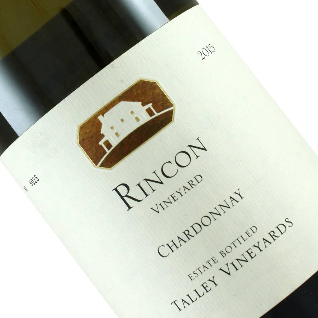 Talley  2015 Chardonnay Rincon Vineyard, Arroyo Grande Valley, California