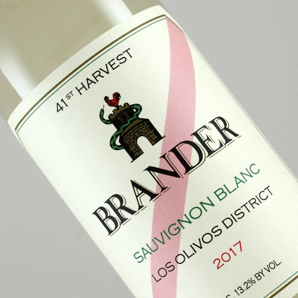 Brander 2017 Sauvignon Blanc, Santa Ynez Valley - Half Bottle