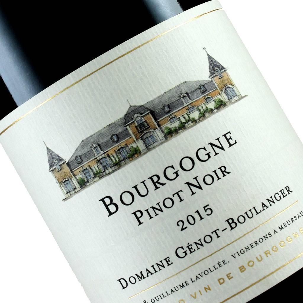 Domaine Genot-Boulanger 2015 Bourgogne Pinot Noir, Burgundy