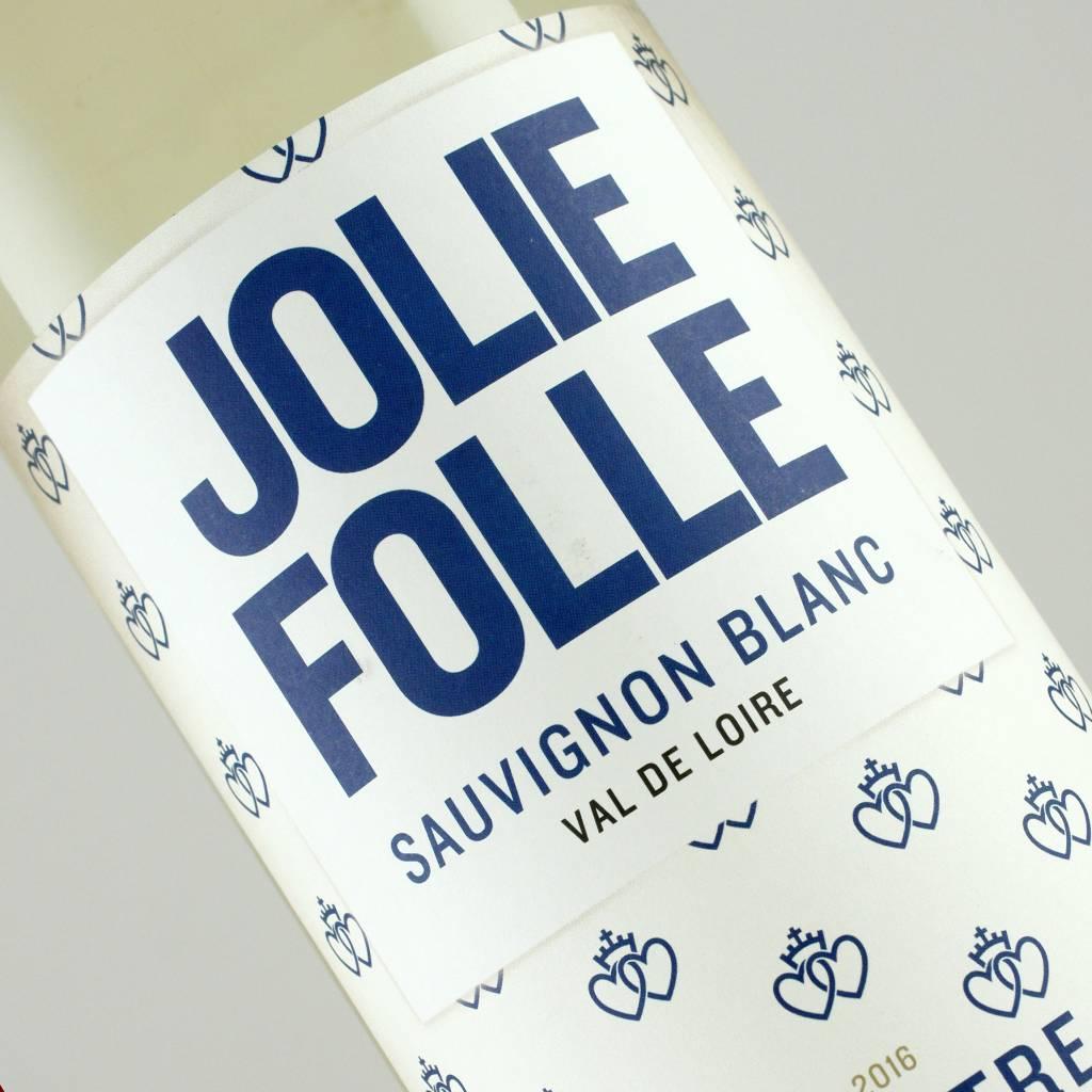 Jolie Folle 2016 Sauvignon Blanc Val De Loire, France 1Liter