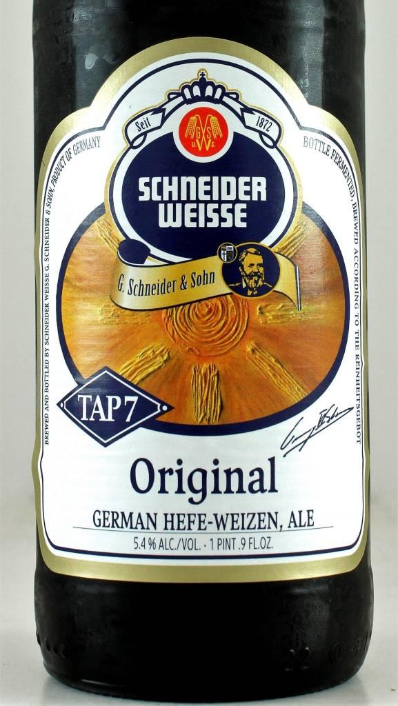 Schneider Weisse Tap 7 Original Hefeweizen, Germany