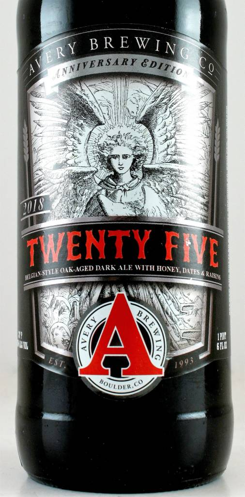 "Avery Brewing ""25th Anniversary"" Belgian Dark"