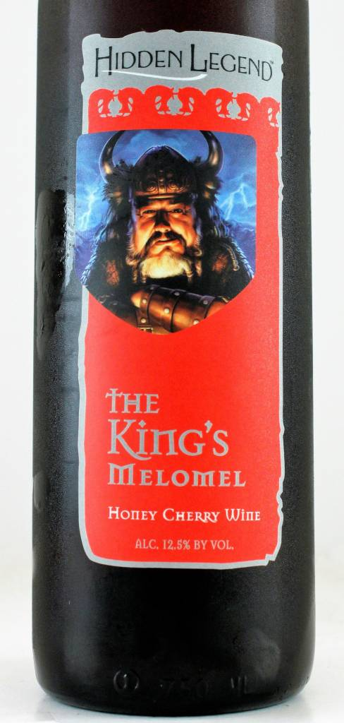 "Hidden Legend ""King's Melomel"" Honey Cherry Wine, Montana"