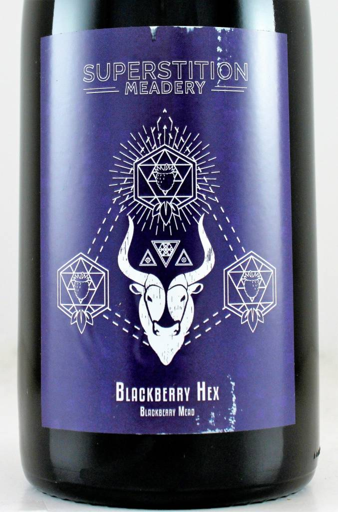 """Superstition Meadery """"Blackberry Hex"""""""