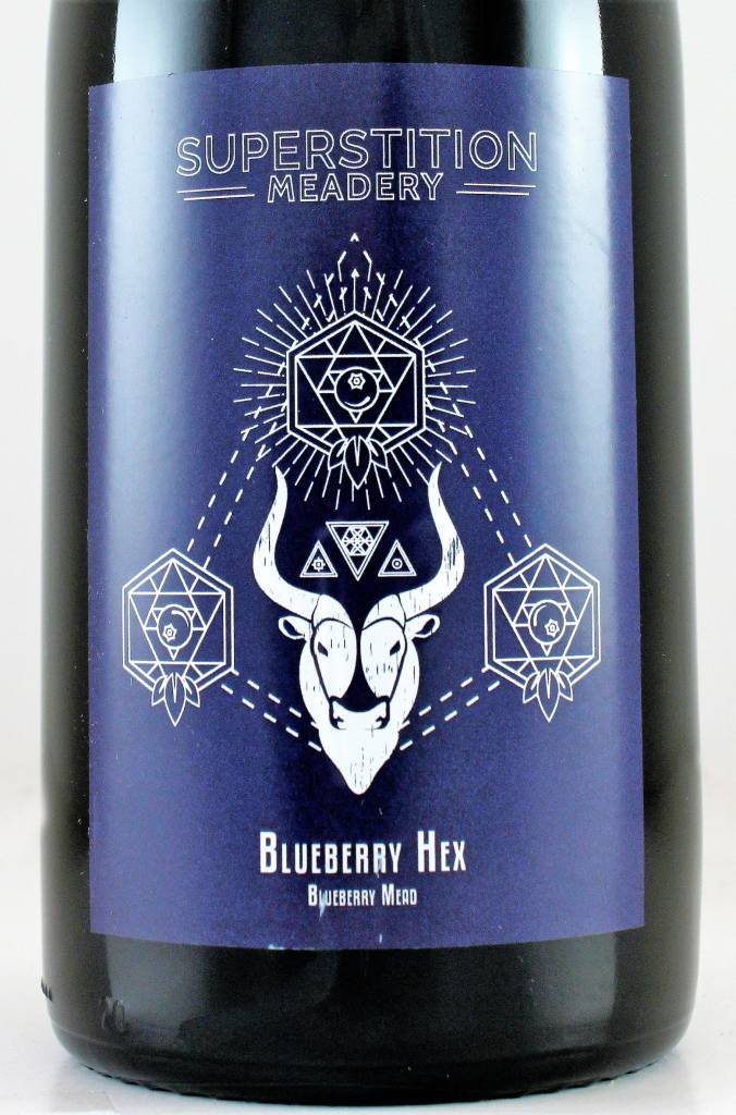 "Superstition Meadery ""Blueberry Hex"""