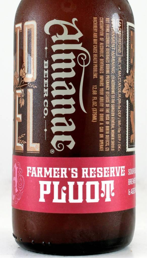 "Almanac Beer Company ""Farmers Reserve Pluot"" Sour, California"