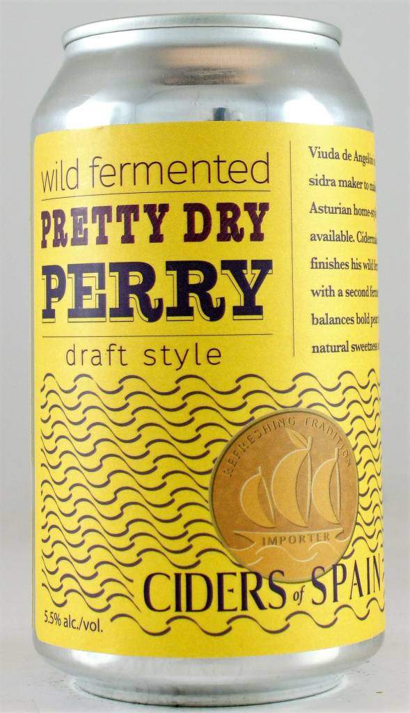 "Ciders of Spain ""Pretty Dry Perry"""