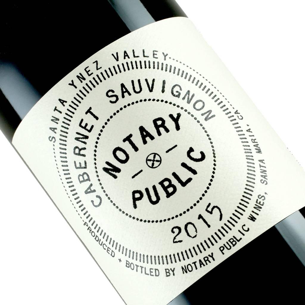 Notary Public 2015 Cabernet Sauvignon, Santa Ynez Valley